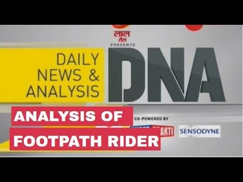 DNA Analysis of Footpath rider