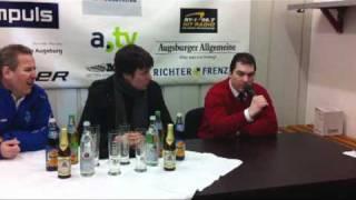 Gambar cover EISHOCKEY-MAGAZIN.de: Pressekonferenz Augsburger Panther - ERC Ingolstadt