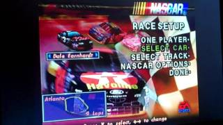 NASCAR 98 PS1 All Drivers and Cars