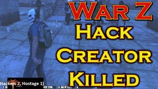 Scottish Kid Kills War Z Hack Tool Creator With His Own Hack
