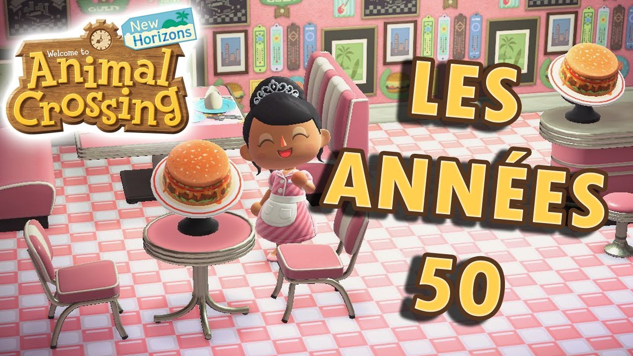 La Collection De Meuble Année 50 Animal Crossing New Horizons Youtube