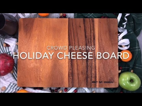 Crowd Pleasing Holiday Cheese Board