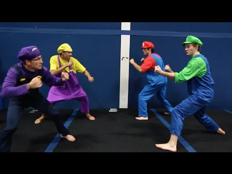 Video Games In Real Life (Super Mario, Pokemon, Star Wars)