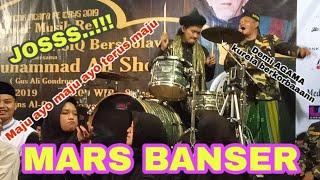 Download lagu JOSSS..!! ABAH ALI NGEDRUMMM..!! MARS BANSER - UNSIQ BERSHOLAWAT