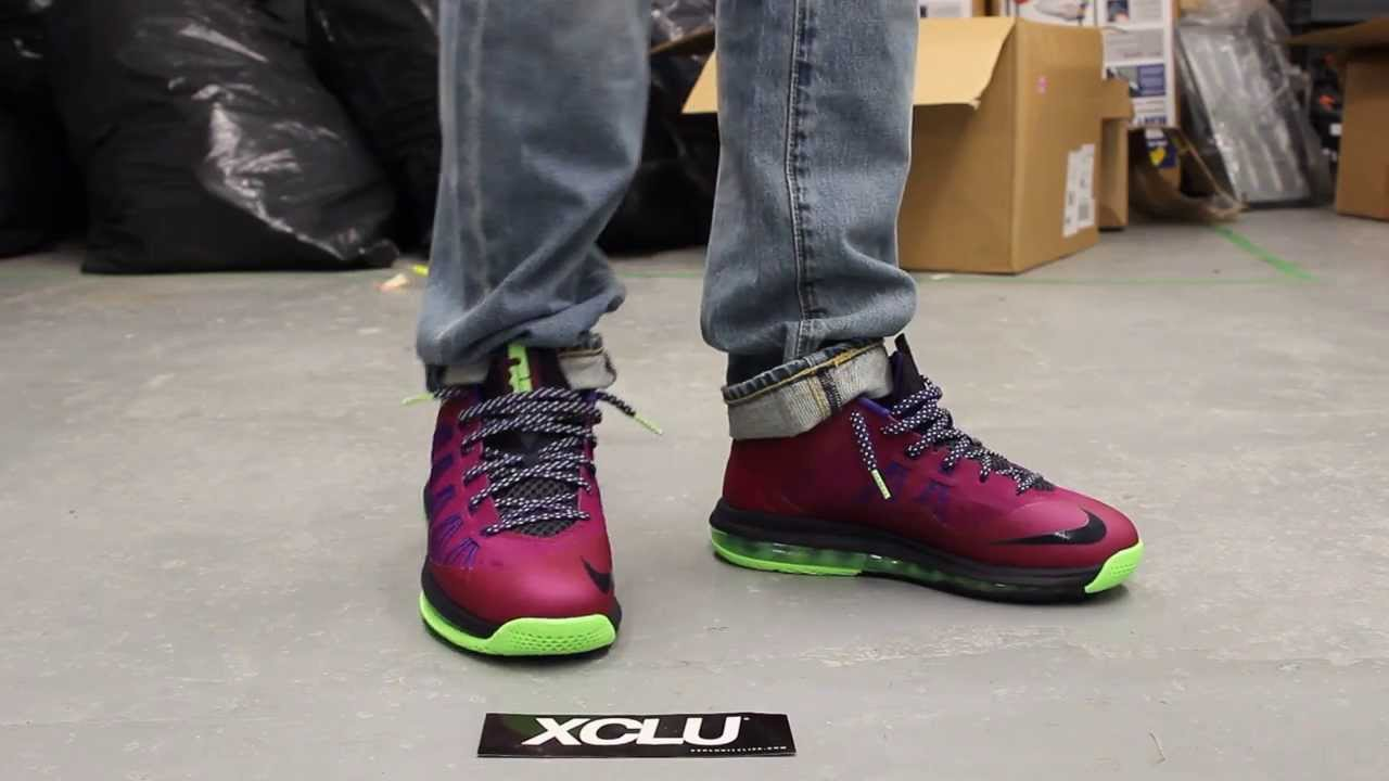 various colors 068ff a1792 Air Max Lebron X Low