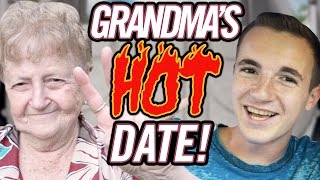 GRANDMA Chooses FIRST DATE OUTFIT?! Kevin and Lill