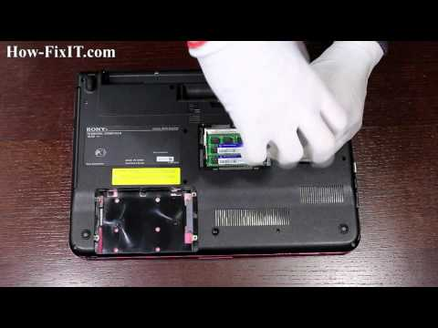 Reset BIOS Settings Sony VAIO PCG-61211V Laptop | CMOS Battery Replacement