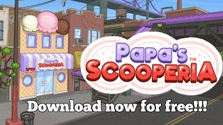 [ANDROID] Download Papa's Scooperia to go for free