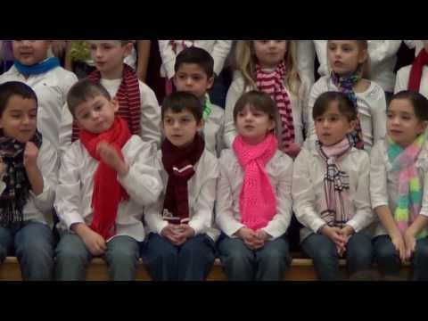 12 Days of Christmas Sung  Cool Kids in School Chorus