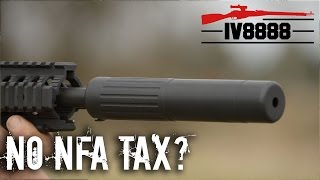 Hearing Protection Act: No NFA Tax for Silencers?