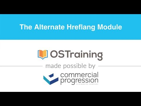 lesson 6 the alternate hreflang module in drupal 8 youtube
