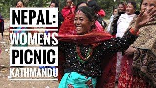 Kathmandu Nepal: Womens Picnic