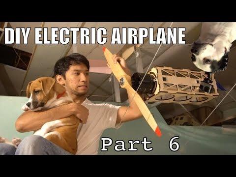 DIY Electric Ultralight Pt6 (GIANT MOTORS And Final Checks)