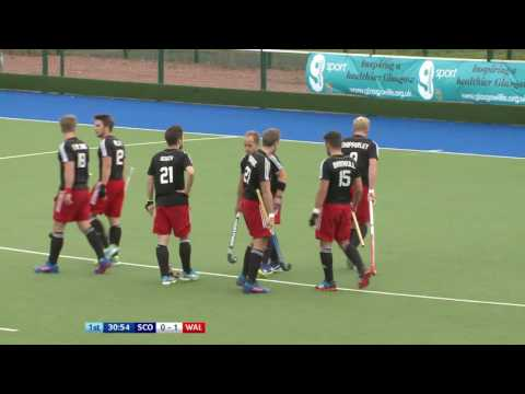 Scotland v Wales l Men's Hockey World League 1 l Glasgow, Sc
