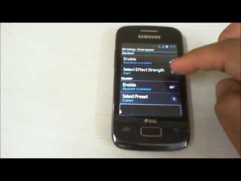 Evolution X2.1 ROM on Samsung Galaxy Y Duos GT-S6102 - A Walkthrough