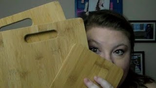 {geek Attraction} Bamboo Cutting Boards