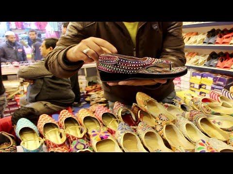 বাণিজ্য মেলা ইন্ডিয়ার জুতা প্যাভিলিয়ন | Travel Bangla 24 | Dhaka Trade Fair Indian Shoes Pavilion