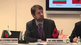 H.E. Ferit Hoxha - Intergovernmental Relations Among Balkan Nations & The EU