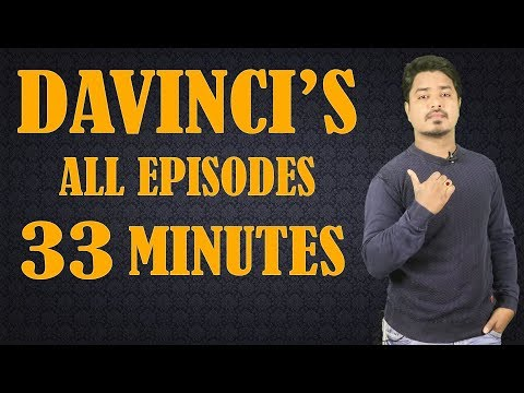 DAVINCI LIFE STORY- ALL EPISODES  Unknown Facts in Telugu  Vikram Aditya Latest s  EP104