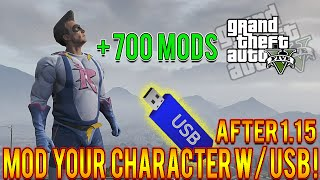 "GTA 5 Online - How To ""MOD YOUR CHARACTER"" In GTA 5 Online! (GTA 5 Mods) [USB Tutorial]"