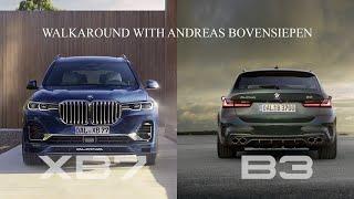 شاهد: عرض تفصيلي لمميزات نسخ شركة ألبينا من سيارات BMW X7 والفئة الثالثة
