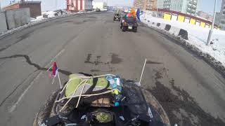 Квадро Норильск 9 Мая 2016 Талнах Ч2