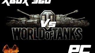 World of tank: Xbox 360 vs Pc