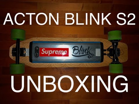 Acton Blink S2 Unboxing and Ride! Amazing Board!!