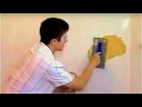 Жидкие обои нанесение и подготовка стен