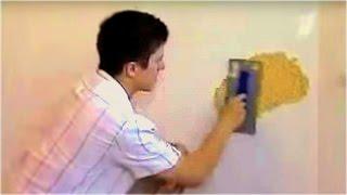 Жидкие обои нанесение и подготовка стен(Из этой видеоинструкции вы узнаете как наносить жидкие обои, подготовить стену под них и как избежать некот..., 2014-05-10T11:01:36.000Z)