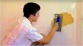 Жидкие обои нанесение и подготовка стен(, 2014-05-10T11:01:36.000Z)
