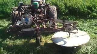 Роторная косилка (самодельная) 1 часть. Homemade rotary mower