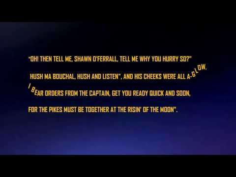 The Rising of the Moon with lyrics