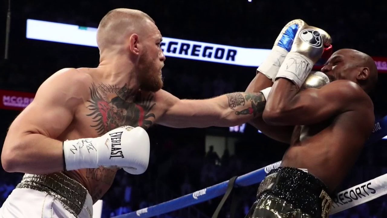 CONOR MCGREGOR vs FLOYD MAYWEATHER FULL FIGHT REVIEW: MAYWEATHER COMES BACK TO STOP MCGREGOR IN 10 - YouTube