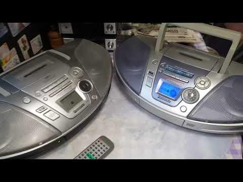 Сравниваем CD магнитолы Panasonic RX-ES22, 23, 27.№311
