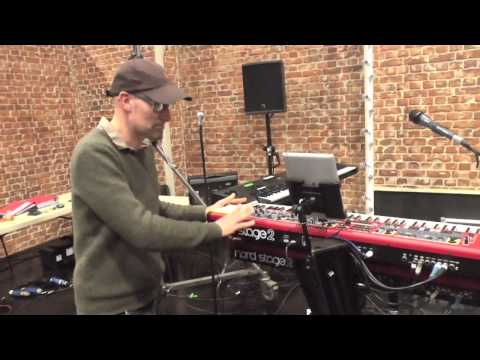 Steve Turner on the Nord Stage 2 at The Voice