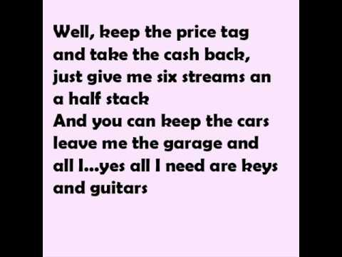 Jessie J - Price Tag ft. B.o.B. [hq] Lyrics on the screen