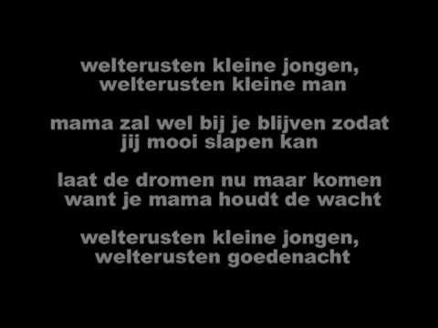 Sanne - Welterusten kleine jongen (songtekst)