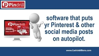 PinDrill Review Video | Pin Drill | Pinterest Auto Poster Software To Monetize Traffic(http://cashinbillions.com/go/pindrill Click left to watch PinDrill Review Video, Pin Drill is a cloud base software. Pindrill is the world's 1st and only all-in-one ..., 2016-05-20T13:34:00.000Z)