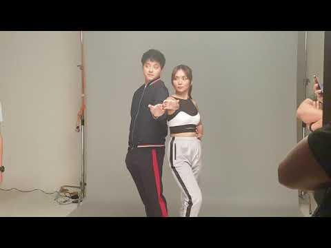 KathNiel nakakakilig sa kanilang Vivo V9 Commercial shoot: Daniel Padilla magaling magpaikot ng bola
