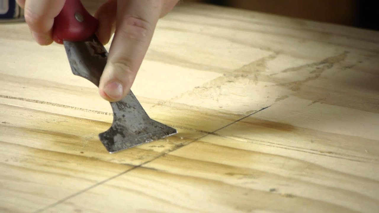 How to remove a peel and stick tile adhesive from plywood how to remove a peel and stick tile adhesive from plywood working on flooring youtube doublecrazyfo Choice Image