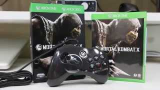 PDP Mortal Kombat X Fight Pad and Game Unboxing and Review for Xbox One