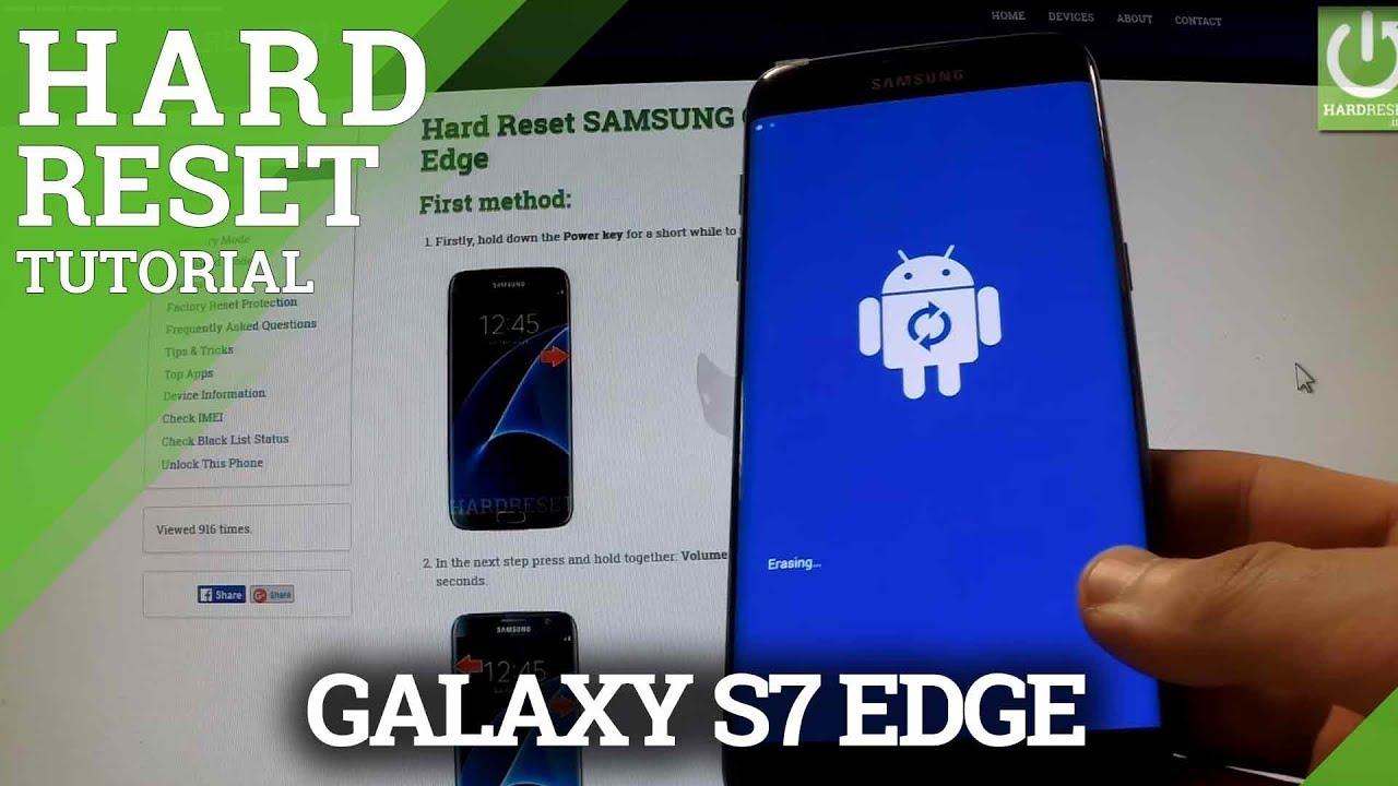 S7 Edge Reset