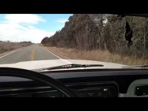 Running down the road in my 75 Ford highboy