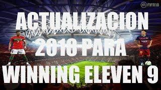Descargar Parche 2018 Para Winning Eleven 9 Pc