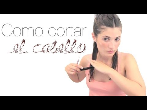 Como cortar el pelo desflecado largo