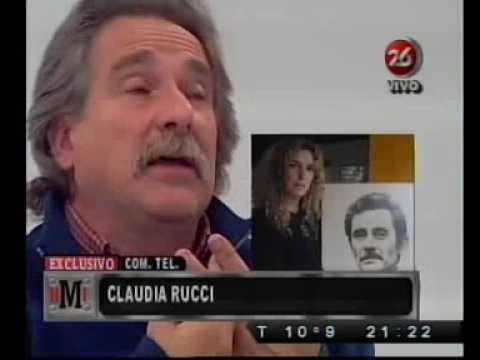 Claudia Rucci habla del asesinato de su padre