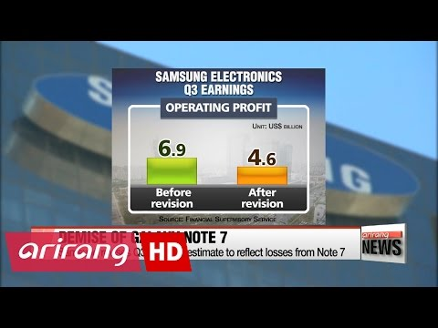 Samsung sees over US$3 billion profit loss from Note 7 sales halt