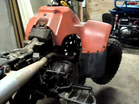 1991 Suzuki Quad Runner 300 4wd | How To Save Money And Do It Yourself!