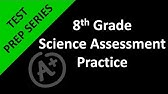 Hacking the 8th Grade Science STAAR test - Formula Chart